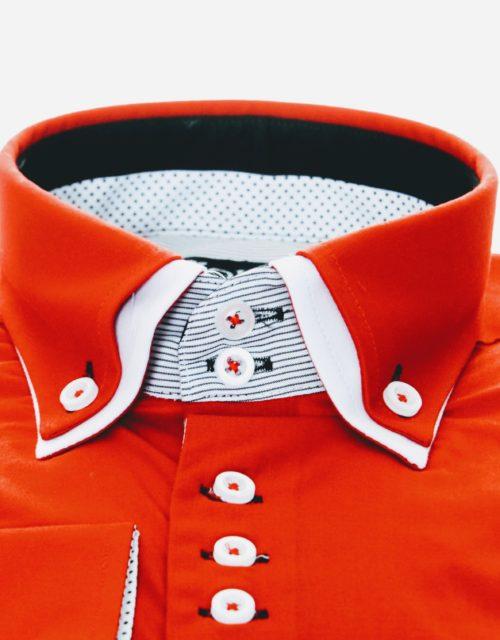 """Muška košulja """"RED – WHITE"""""""