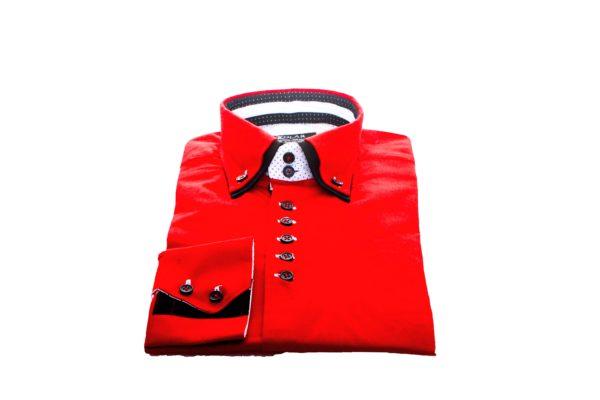 """Moška srajca """"RED - BLACK"""""""