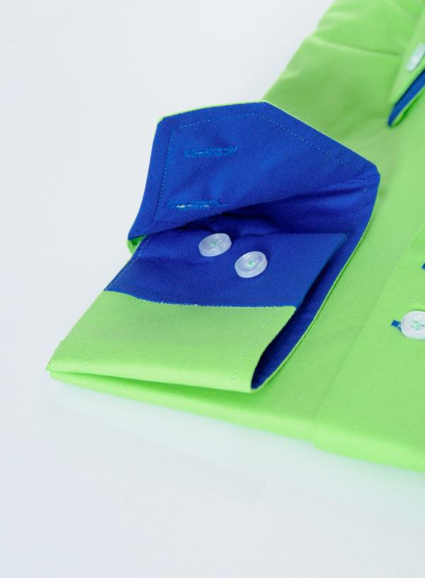 """Moška srajca """"GREEN ROYAL BLUE"""""""