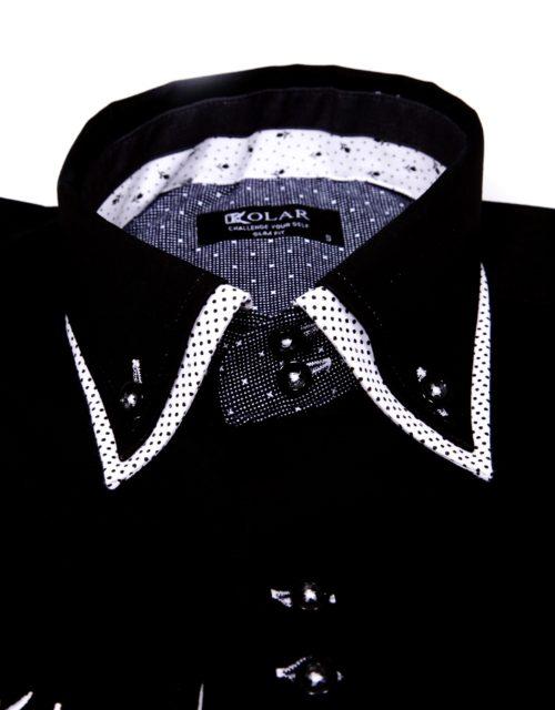 "Muška košulja ""BLACK– WHITE PARIS"""
