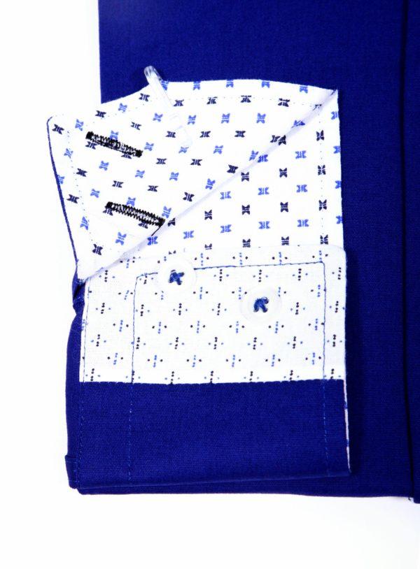 "Muška košulja ""ROYAL BLUE – WHITE PARIS"""