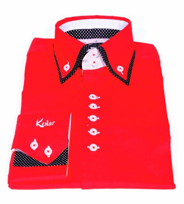 "Muška košulja ""RED – BLACK PARIS"""