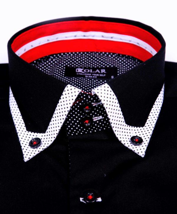 """Muška košulja """"BLACK– WHITE PREMIUM"""""""